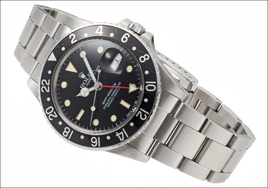 Rolex GMT Master Ref.16750 Mark 4 グロスダイアル