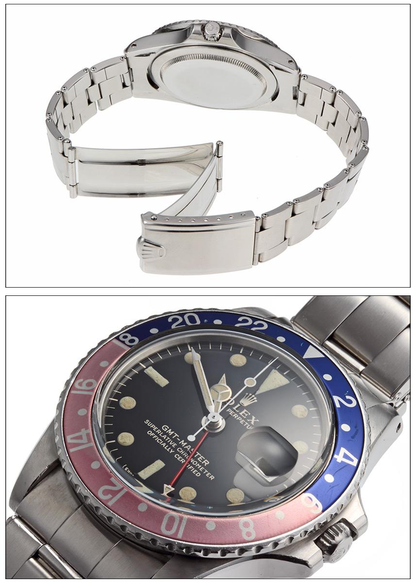 Rolex GMT Master Ref.1675 mirror dial kobari, 1967