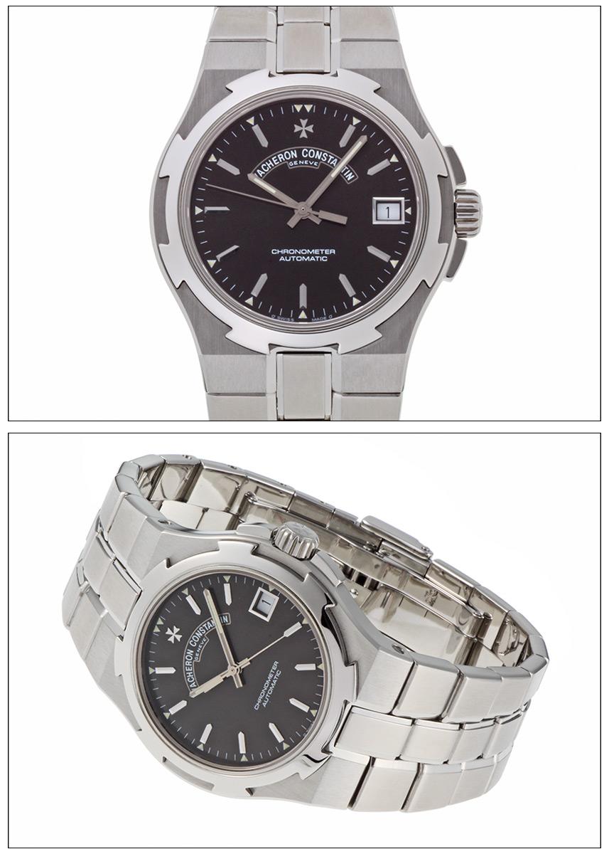 Vacheron Constantin overseas large black dial Ref.ST42040.423.41 SS 2000, around