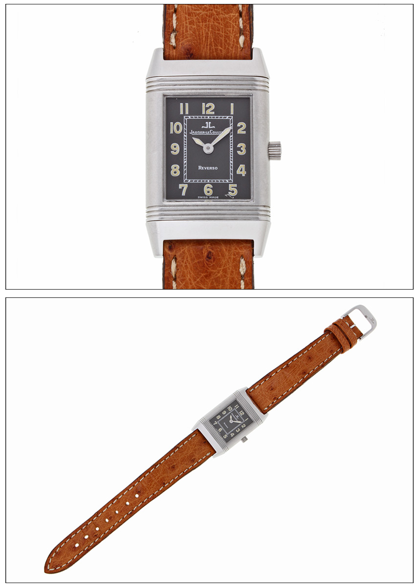 Jaguar-LeCoultre Reverso shadow Lady Ref.QA260.8.02, 261.8.86 stainless steel 1990s