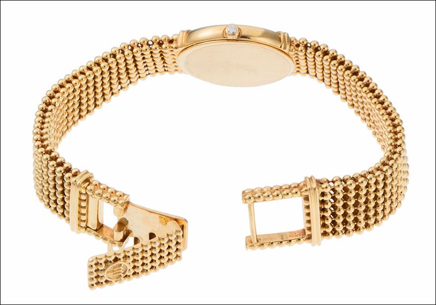 Seiko credor prestige Ref.2F70-5910 Yellow Gold Diamond and Ruby Vesel 1988