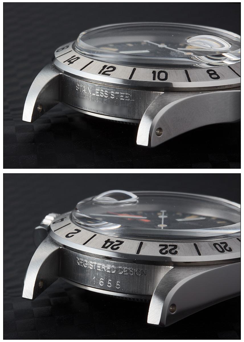 Rolex Explorer 2 Ref .1655 stainless steel mat black mark 2 dial mark 2 bezel 1973