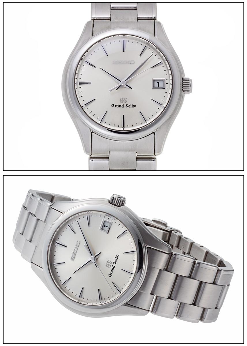 Grand Seiko 9F quartz Ref.9F62-0A10, SBGX005 Silver Dial-2004