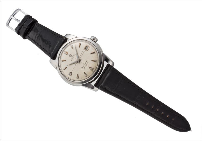 在 1958年日历自动 Ref.2849 6SC Cal.503 不锈钢,欧米茄海马
