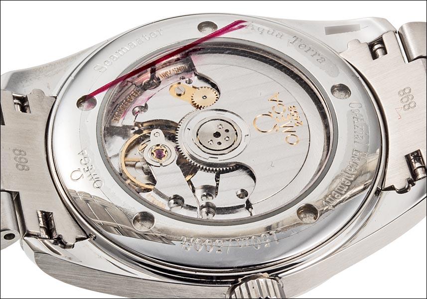 オメガシーマスターアクアテラコーアクシャルレールマスター Ref.2503.52 2008