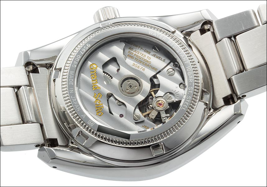 Grand Seiko 9 S mechanical power reserve Ref.SBGL001 9S67-00A0 Iwate ridges dial-2007