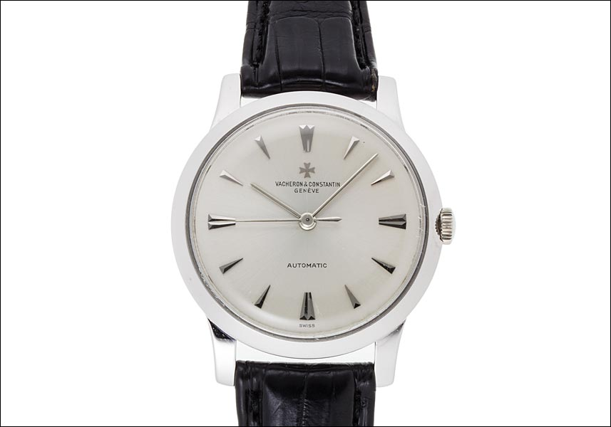 Vacheron Constantin round automatic white gold Ref.6378 Cal.k1071, 1962