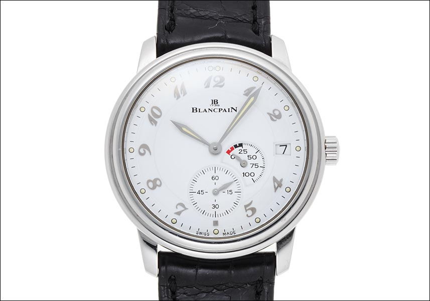 Blancpain Blancpain new classic Ref.1106-1127-55 stainless steel in 2000, around