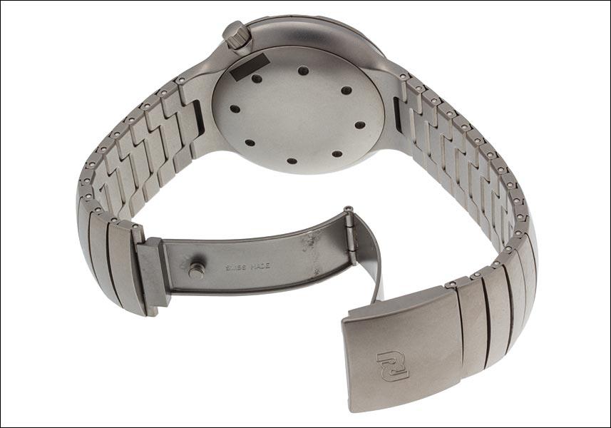 포 르 쉐 디자인 by IWC 오션 2000 Ref.3524 티타늄 후반 모형 1996 년