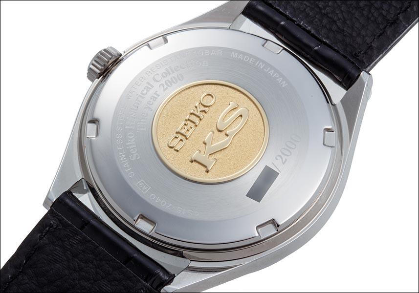 킹 세이코 히스토리컬 컬렉션 2000개 한정 복각 모델 Ref.SCVN001 4 S15-7040 SS 2000년