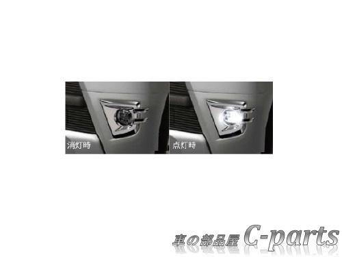 【純正】DAIHATSU HIJET CARGO ダイハツ ハイゼット カーゴ【S321V S331V】  LEDフォグランプ(メッキベゼル付)【ライトローズマイカメタリック】[08580-K5009-E7]