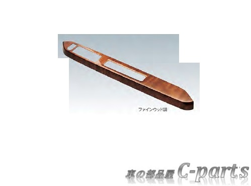 【純正】DAIHATSU MIRA e:s ダイハツ ミライース【LA350S LA360S】  パワーウインドゥスイッチパネル(フロント)【ファインウッド調】[08112-K2042]