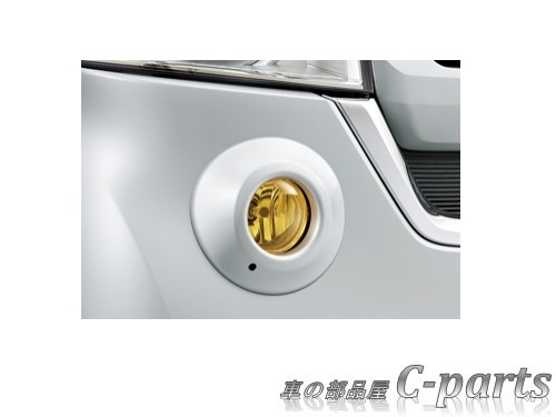 【純正】HONDA N-BOX ホンダ Nボックス【JF3 JF4】  ハロゲンフォグライト(イエロー)【プレミアムアイボリー・パール】[08V31-T5A-000/08V38-TTA-A00/08V38-TTA-080G]