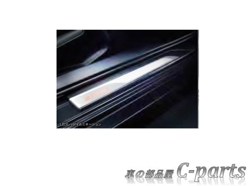 【純正】HONDA CIVIC ホンダ シビック【FK7-100 FC1-100】  サイドステップガーニッシュ(LEDレッドイルミネーション)[08E12-TEA-000B]