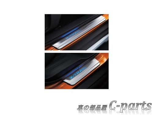 通販 激安◆ ニッサン純正部品 純正品番 G6950-6FR0B G6988-3DN0A 送料無料 純正 NISSAN X-TRAIL NT32 キッキングプレート 格安 ニッサン エクストレイル T32 HT32 HNT32 青色発光