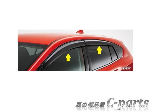 【純正】SUBARU IMPREZA SPORT スバル インプレッサスポーツ【GT6 GT7】  ドアバイザー(SPORT)[F0017FL010]