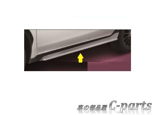 【純正:大型】SUBARU XV HYBRID スバル XVハイブリッド【GPE】  STIサイドアンダースポイラー[ST96030MF060]