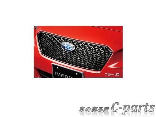 【純正】SUBARU IMPREZA SPORT スバル インプレッサスポーツ【GT2 GT3 GT6 GT7】  フロントグリル(ブルーLEDエンブレム)[J1017FL400]