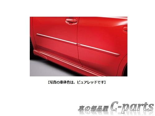 【純正】SUBARU IMPREZA SPORT スバル インプレッサスポーツ【GT2 GT3 GT6 GT7】  ボディサイドモールディング【クォーツブルー・パール】[J1017VA600E1]