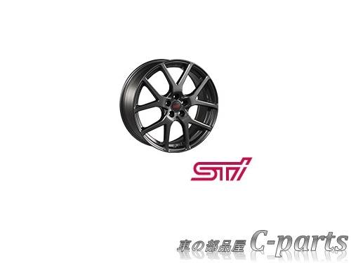【純正】SUBARU IMPREZA SPORT スバル インプレッサスポーツ【GT2 GT3 GT6 GT7】  STIアルミホイール(17インチ)(4本)【ガンメタ】[SG217FL210×4]:車の部品屋 C-parts
