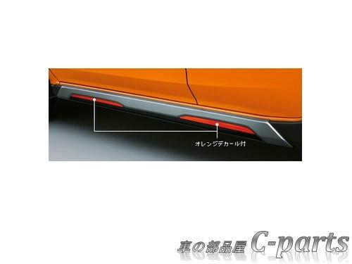 【純正】SUBARU XV スバル XV【GT3 GT7】  サイドアンダーパネル【オレンジデカール付】[E2617FL130]