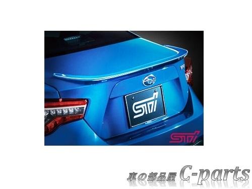 【純正】SUBARU BRZ スバル BRZ【ZC6】  STIトランクスポイラー【クリスタルブラック・シリカ】[SG717CA000V2]