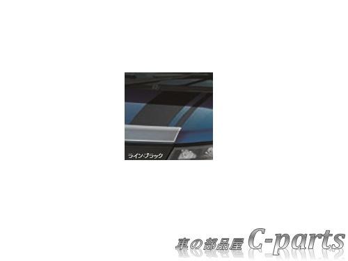 【純正】SUBARU JUSTY スバル ジャスティ【M900F M910F】  フードストライプ【ライン・ブラック】[08230F1017]