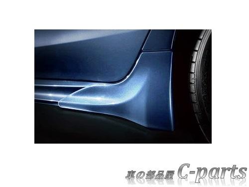 【純正:大型】SUBARU LEVORG スバル レヴォーグ【VM4 VMG】  サイドストレーキ【ダークグレー・メタリック】[E2617VA000EN]