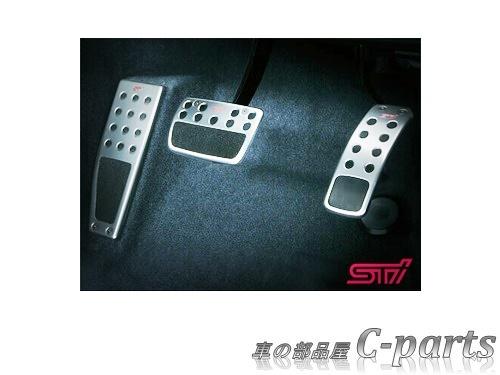 【純正】SUBARU LEVORG スバル レヴォーグ【VM4 VMG】  STIペダルパッドセット(CVT)[SG317FG000]