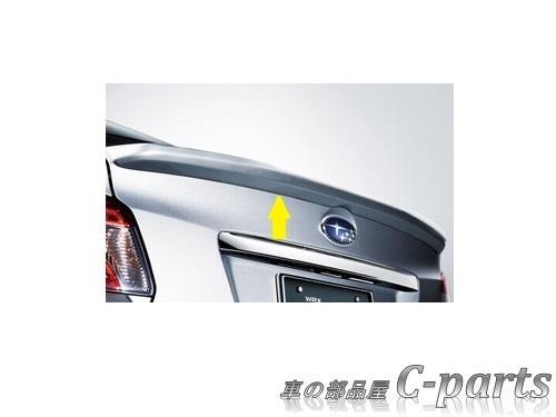 【純正:大型】SUBARU WRX S4 スバル WRX S4【VAG】  トランクリップスポイラー【ピュアレッド】[E7217VA000T2]