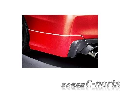 【純正】SUBARU WRX S4 スバル WRX S4【VAG】  エアロスプラッシュ(リヤ)【ピュアレッド】[J1017VA104T2]