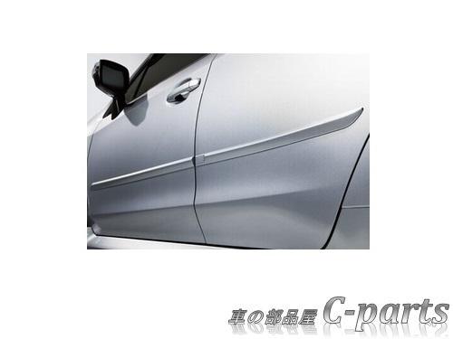 【純正】SUBARU WRX STI スバル WRX STI【VAB】  ボディサイドモールディング【クリスタルブラック・シリカ】[J1017VA600V2]