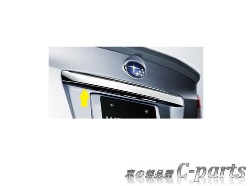【純正】SUBARU WRX STI スバル WRX STI【VAB】  トランクガーニッシュ(メッキ)[J1218FJ221]