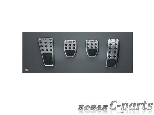 【純正】SUBARU FORESTER スバル フォレスター【SJ5 SJG】  STIペダルパッドセット(MT)[SG317FG010]