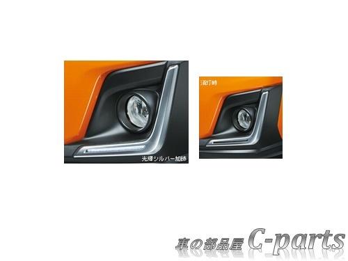 【純正】SUBARU XV スバル XV【GT3 GT7】  LEDアクセサリーライナー【シルバー加飾】[H4517FL300]