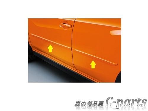 【純正】SUBARU XV スバル XV【GT3 GT7】  ボディサイドモールディング【ダークグレー・メタリック】[J1017FJ800EN]
