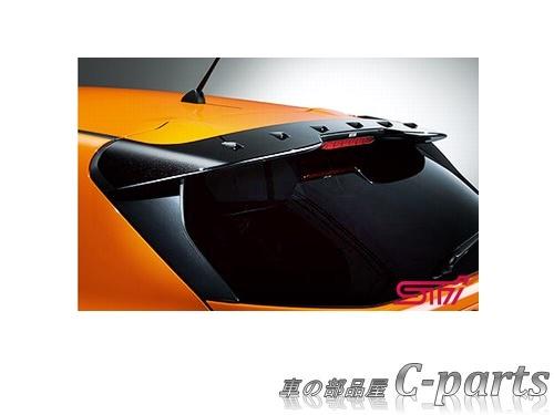 【純正:大型】SUBARU XV スバル XV【GT3 GT7】  STIリヤルーフスポイラー[SG517FL400]