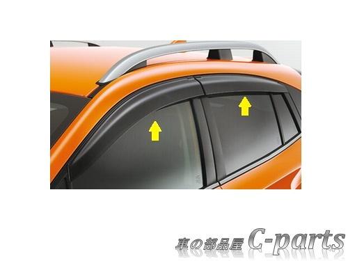 【純正】SUBARU XV スバル XV【GT3 GT7】  ドアバイザー[F0017FL010]
