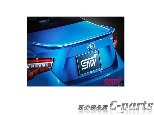 【純正】SUBARU BRZ スバル BRZ【ZC6】  STIトランクスポイラー【クリスタルホワイト・パール】[SG717CA000W6]