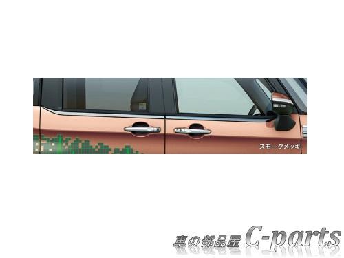 【純正】SUBARU JUSTY スバル ジャスティ【M900F M910F】  ベルトラインモール(スモークメッキ)[08400F1038]