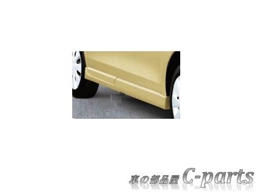 【純正:大型】SUZUKI Spacia スズキ スペーシア【MK42S】  サイドアンダースポイラー【ブリスブルーメタリック】[99000-990F0-B2R]