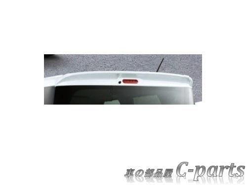【純正:大型】SUZUKI Spacia スズキ スペーシア【MK42S】  ルーフエンドスポイラー【シルキーシルバーメタリック】[99000-99076-42S]