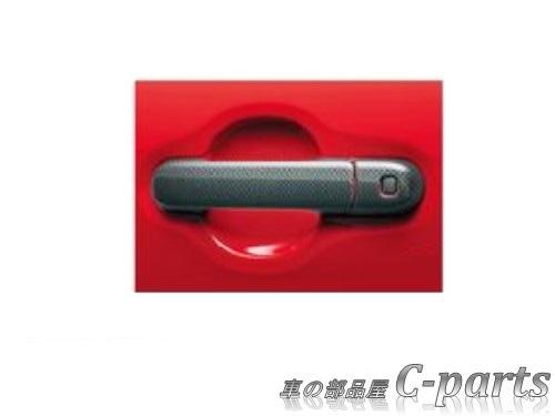スズキ純正部品 純正品番 99000-99013-DG7 送料無料 純正 SUZUKI HUSTLER MR41S ドアハンドルガーニッシュ カーボン調 ハスラー MR31S セール特価品 スズキ 海外