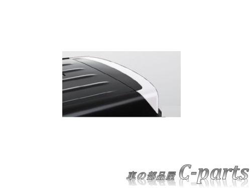 【純正】SUZUKI XBEE スズキ クロスビー【MN71S】  ルーフエンドスポイラー【ピュアホワイトパール】[99110-76R00-ZVR]