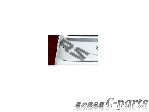 【純正】SUZUKI ALTO TURBORS スズキ アルトターボRS【HA36S】  バックドアデカール[99000-99035-E14]
