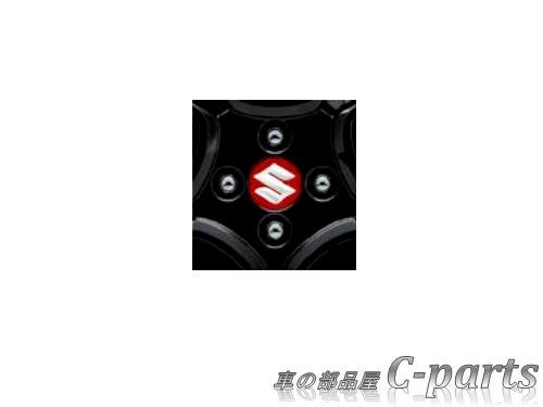 【純正】SUZUKI XBEE スズキ クロスビー【MN71S】  アルミホイールセンターキャップ(1台分(4個)セット)【レッド】[99236-62R00‐ZNB]