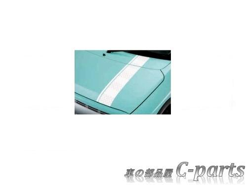 【純正】SUZUKI Lapin スズキ ラパン【HE33S】  フードデカール(フロントフード貼付用)【カジュアル】[99000-99035-E16]