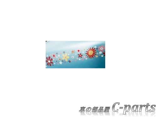【純正】SUZUKI ALTO スズキ アルト【HA36S HA36V】  ドアミラーデカール(左右セット)【花柄】[99000-99035-V77]