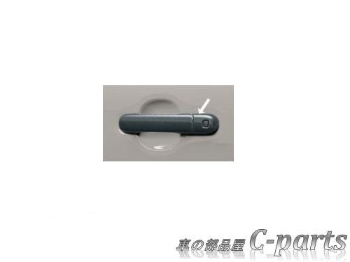 【純正】SUZUKI XBEE スズキ クロスビー【MN71S】  ドアハンドルガーニッシュ(ドア4枚セット)【カーボン調樹脂】[99000-99013-DG7]