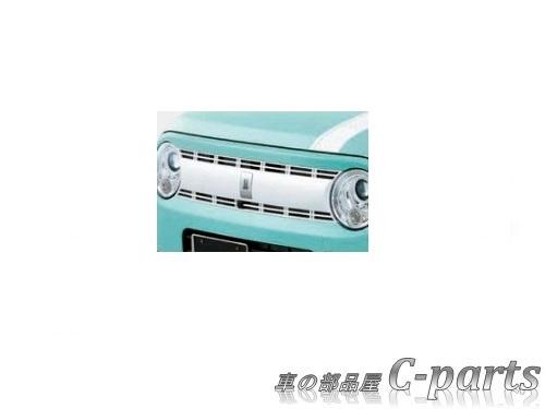 【純正:大型】SUZUKI Lapin スズキ ラパン【HE33S】  フロントグリル(フロントカメラ無車用)【ホワイト】[99000-99076-L1K]